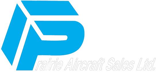 Prairie Aircraft Sales Logo Dark
